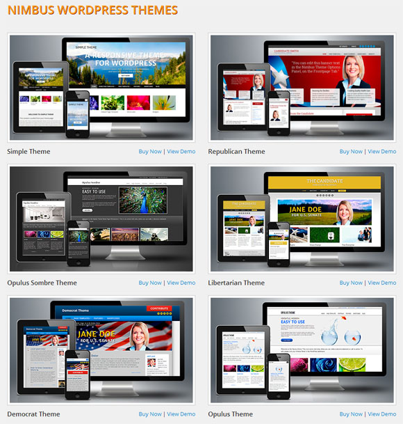 Nimbus WordPress Themes, Nimbus Theme Review